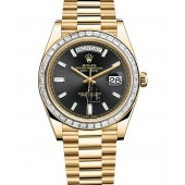 Fake Rolex Oyster Perpetual Day Date 40 228398TBR