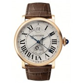 AAA quality Rotonde de Cartier Mens Watch W1556220 replica.