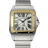 AAA quality Cartier Santos 100 Mens Watch W200728G replica.