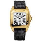 AAA quality Cartier Santos 100 Mens Watch W20112Y1 replica.