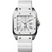 AAA quality Cartier Santos 100 Ladies Watch W20122U2 replica.