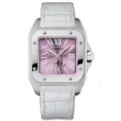 AAA quality Cartier Santos 100 Ladies Watch W20133X8 replica.