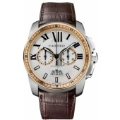 AAA quality Calibre De Cartier Chronograph Mens Watch W7100043 replica.