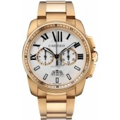 AAA quality Calibre De Cartier Chronograph Mens Watch W7100047 replica.