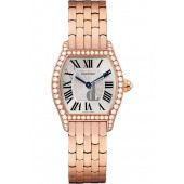 Cartier Tortue Silvered Flinque Dial Ladies Watch imitation