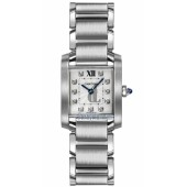 AAA quality C-artier Tank Francaise Ladies Watch WE110006 replica.