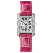 AAA quality C-artier Tank Anglaise Small Ladies Watch WT100015 replica.