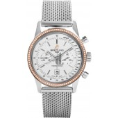 Breitling Transocean Chronograph 38 U4131053Rose Gold Watch fake