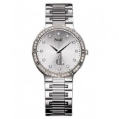 Piaget Dancer White Gold Diamond Ladies Replica Watch GOA33052