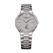 Piaget Dancer Diamond Pave Men's Replica Watch G0A34054