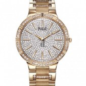 Piaget Dancer Diamond Pave Men's Replica Watch G0A37054