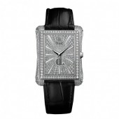 Piaget Emperador Diamond Pave Automatic Men's Replica Watch G0A33075
