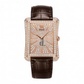 Piaget Emperador Diamond Pave Automatic Men's Replica Watch G0A33076