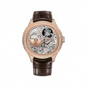 Piaget Emperador Skeleton Automatic Men's Replica Watch GOA38058