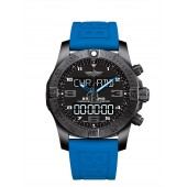 Breitling Navitimer Exospace B55 Connected Blue Rubber Men's VB5510H2 Watch fake