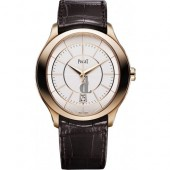 Piaget Gouverneur Guilloche Alligator Men's Replica Watch GOA37110
