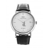 Replica IWC Portofino Automatic Steel Black Mens Watch IW353301
