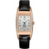 Replica Longines BelleArti L25019733 Womens Tonneau 18K Solid Rose Gold Quartz Watch