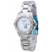 Replica Longines Heritage LOL3.247.0.87.6 Womens Stainless Steel Quartz Watch