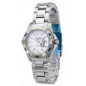Replica Longines Heritage L3.247.4.76.6 Womens Round Stainless Steel Quartz Watch