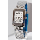 Replica Longines Dolce Vita L5.155.4.71.6 Womens Rectangle Stainless Steel Quartz Watch