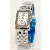 Replica Longines Dolce Vita L5.155.4.94.6 Womens Rectangle Stainless Steel Quartz Watch