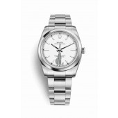 Rolex Oyster Perpetual 34 Oystersteel 114200 White Dial