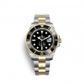 Rolex Sea-Dweller Oystersteel 18 ct yellow gold M126603-0001 watch replica