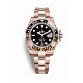 Rolex GMT-Master II Everose gold – 126715CHNR Black Dial
