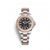 Rolex Yacht-Master 37 Oystersteel 18 ct Everose gold M268621-0004 watch replica