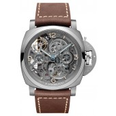 panerai Scienziato Luminor 1950 Tourbillon GMT Titanio PAM00578 imitation watch