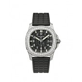 Fake Patek Philippe Aquanaut Luce Haute Joaillerie Mysterious Black Ladies Watch 5069G