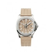 Fake Patek Philippe Aquanaut Luce Honey Beige Ladies Watch 5067A-020