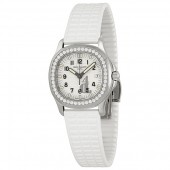 Fake Patek Philippe Aquanaut Luce Pure White Ladies Watch 5067A-011