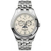 Fake Patek Philippe Complicated Annual Calendar 18kt White Gold Men's Watch 5146-1G