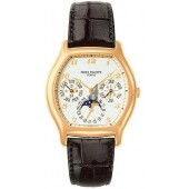 Fake Patek Philippe Complicated Perpetual Calendar 18kt Rose Gold Men's Watch 5040R