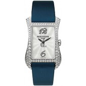 Fake Patek Philippe Gondolo Serata 18kt White Gold Diamond Blue Ladies Watch 4972G