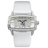Fake Patek Philippe Gondolo Gemma White Gold Ladies Watch 4982G
