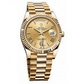 Rolex Day-Date II 228238 40MM replica yellow gold