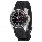 Tudor HydronautII Black Dial Black Rubber Ladies Watch 24060N-BKSBKRS Replica