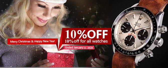 best watches replica promotion on 2018 christmas