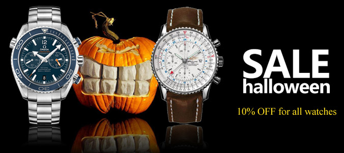 best watches replica promotion on 2019 halloween